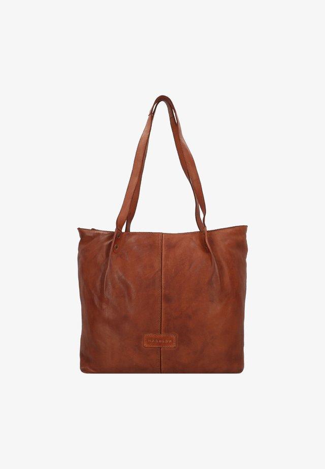 SUBMARINE - Shopping Bag - cognac
