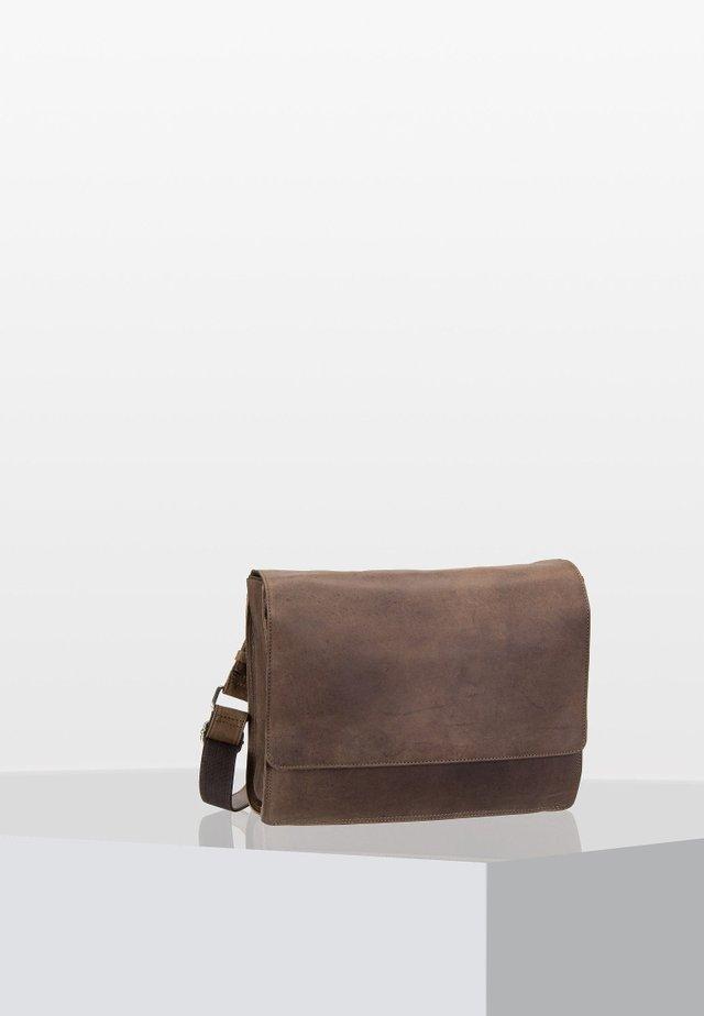 Laptop bag - taupe