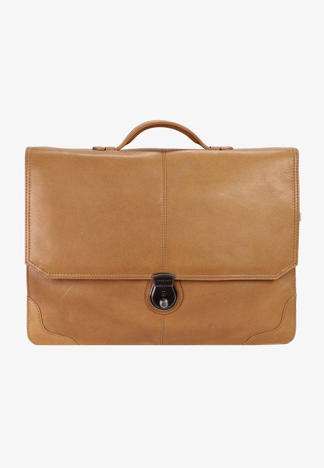 COUNTRY - Briefcase - cognac
