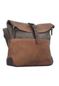 Harold's - TWISTER MESSENGER  - Umhängetasche - brown - 2
