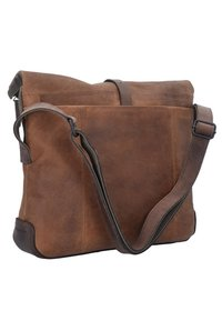 Harold's - TWISTER MESSENGER  - Umhängetasche - brown - 1