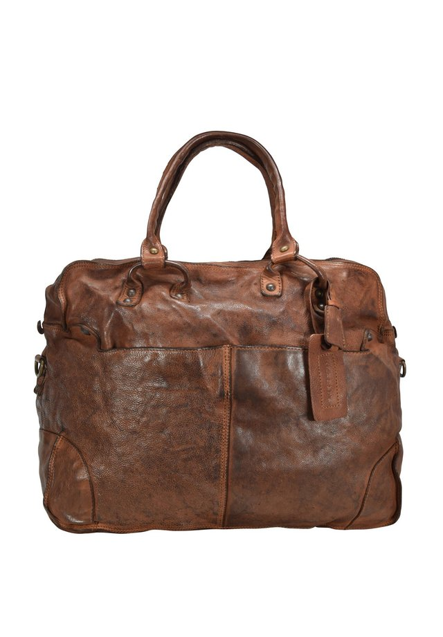 Weekend bag - cognac
