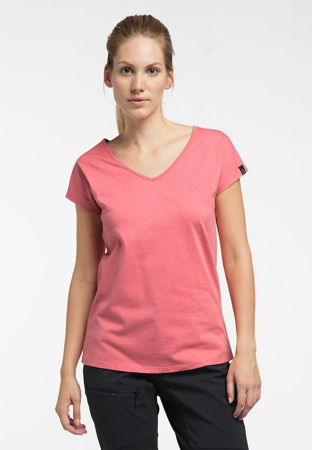 FUNKTIONSSHIRT CAMP TEE - Basic T-shirt - rusty pink