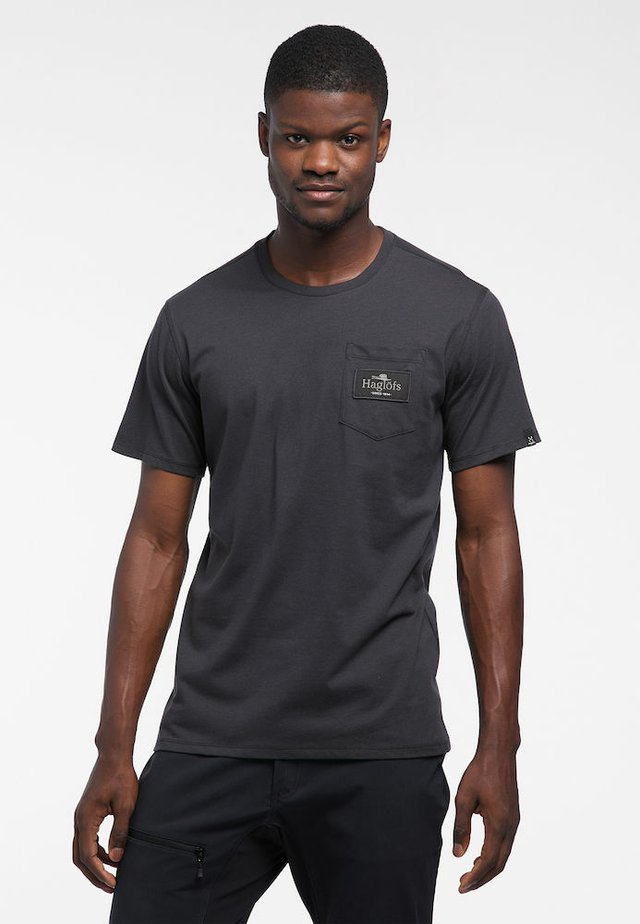 MIRTH TEE - Print T-shirt - slate