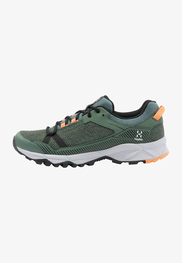 Hiking shoes - dk agave green/true black