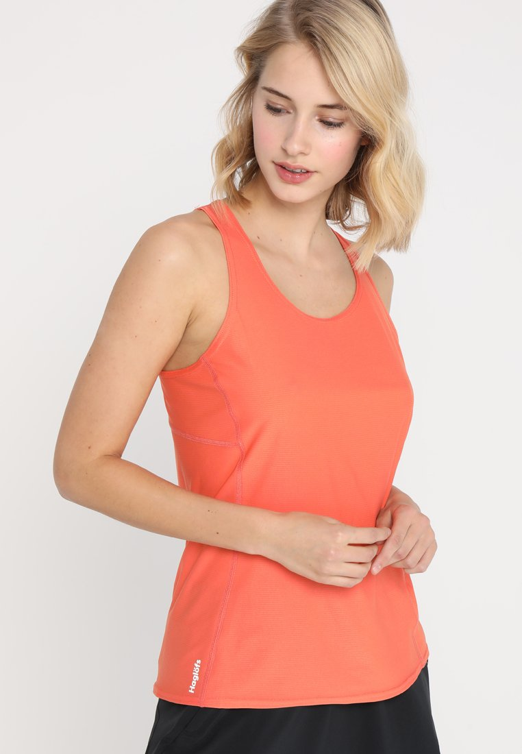 Haglöfs - LIM TECH TANK WOMEN - Top - coral