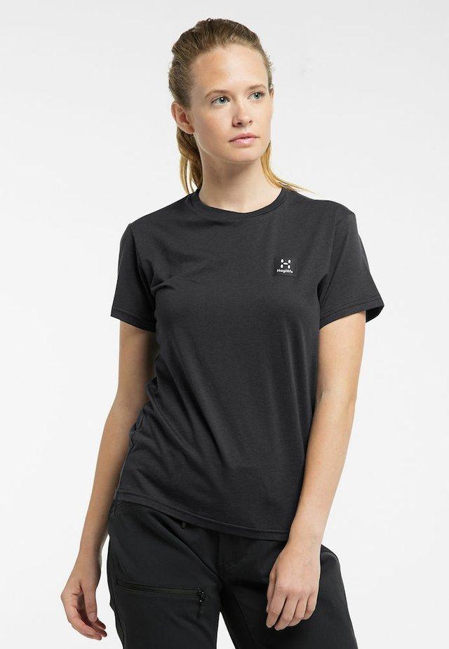 Basic T-shirt - true black