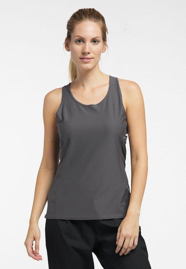 Sports shirt - magnetite