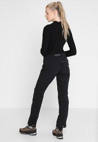 Haglöfs - BRECCIA PANT WOMEN - Pantaloni outdoor - true black/magnetite - 2