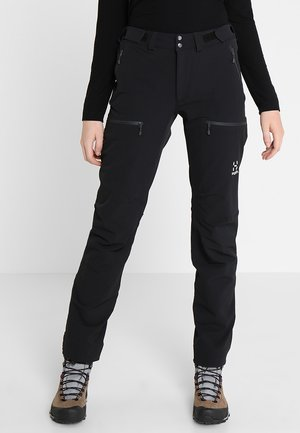 BRECCIA PANT WOMEN - Outdoorbroeken - true black/magnetite