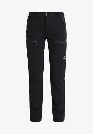 BRECCIA PANT WOMEN - Outdoorové kalhoty - true black/magnetite