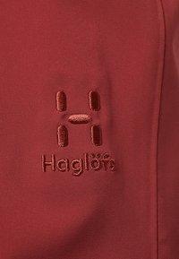 Haglöfs - STIPE PANT WOMEN - Stoffhose - brick red - 6
