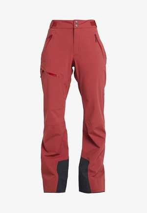 STIPE PANT WOMEN - Pantalon classique - brick red