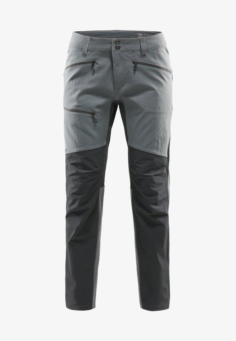 Haglöfs - RUGGED FLEX - Długie spodnie trekkingowe - grey