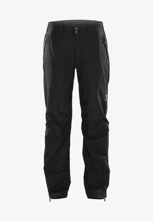 HAGLÖFS REGENHOSE VANDRA PANT WOMEN - Snow pants - true black