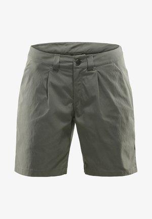 KURZE WANDERHOSE MID SOLID WOMEN - Outdoor shorts - beluga