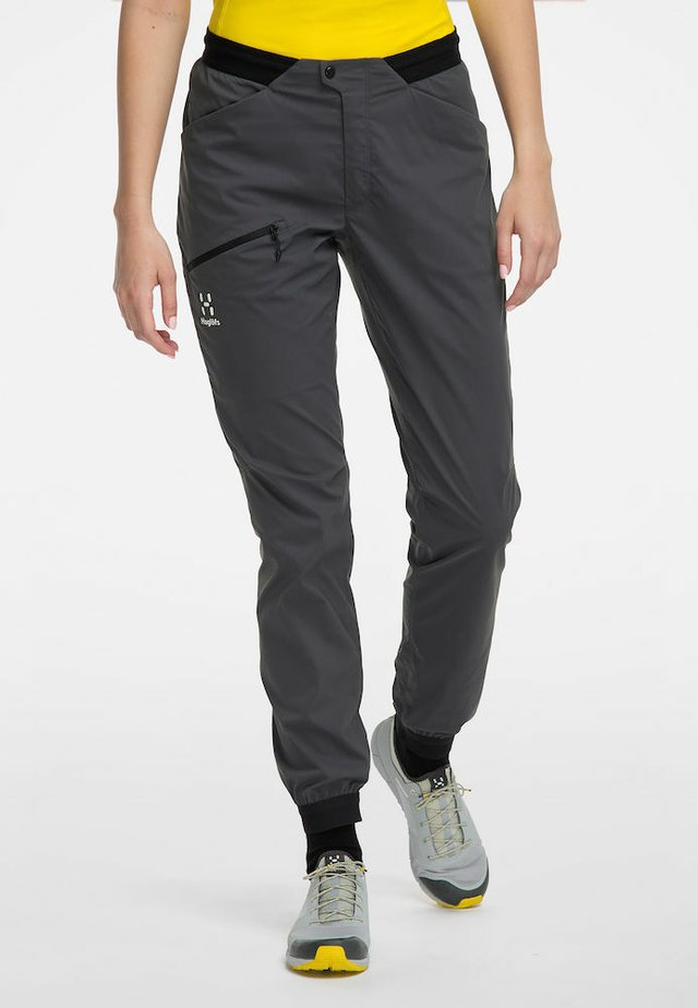 L.I.M FUSE PANT WOMAN - Outdoor trousers - magnetite