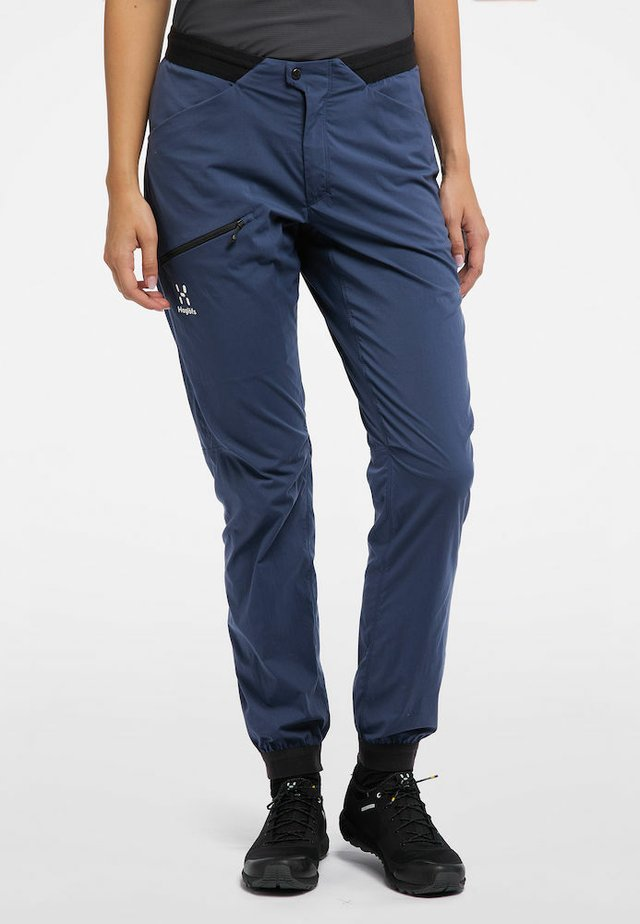 L.I.M FUSE PANT WOMAN - Outdoor trousers - tarn blue