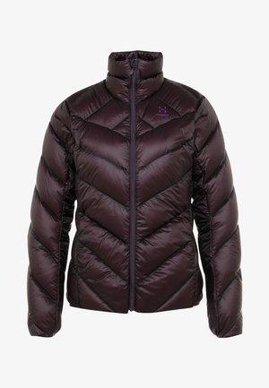 ESSENS JACKET WOMEN - Down jacket - acai berry