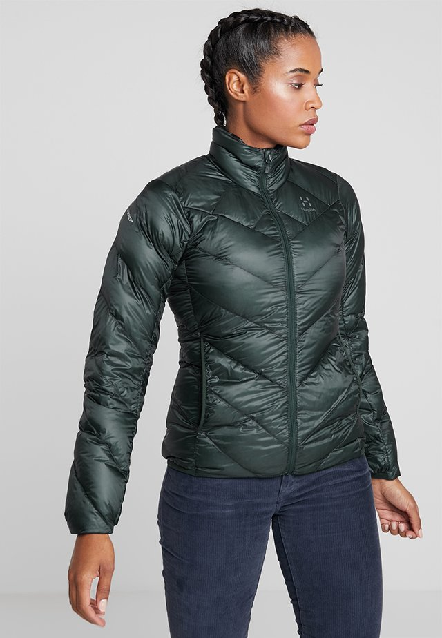 ESSENS JACKET WOMEN - Dunjacka - mineral