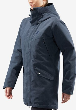 SILJAN - Winter coat - tarn blue melange