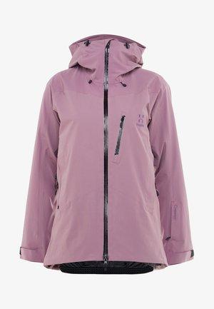 NIVA JACKET WOMEN - Giacca da snowboard - purple milk