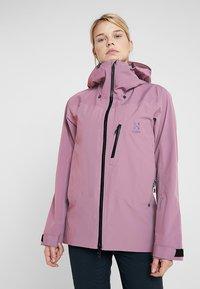 Haglöfs - NIVA JACKET WOMEN - Snowboardjas - purple milk - 0