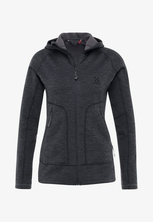 HERON HOOD WOMEN - Fleecová bunda - slate