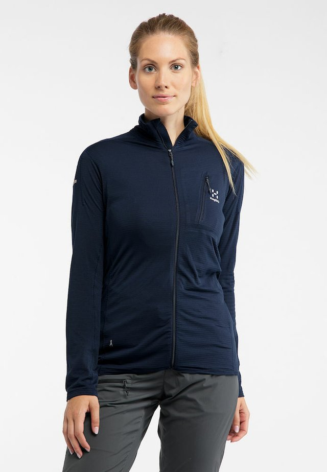 L.I.M  - Fleece jacket - tarn blue