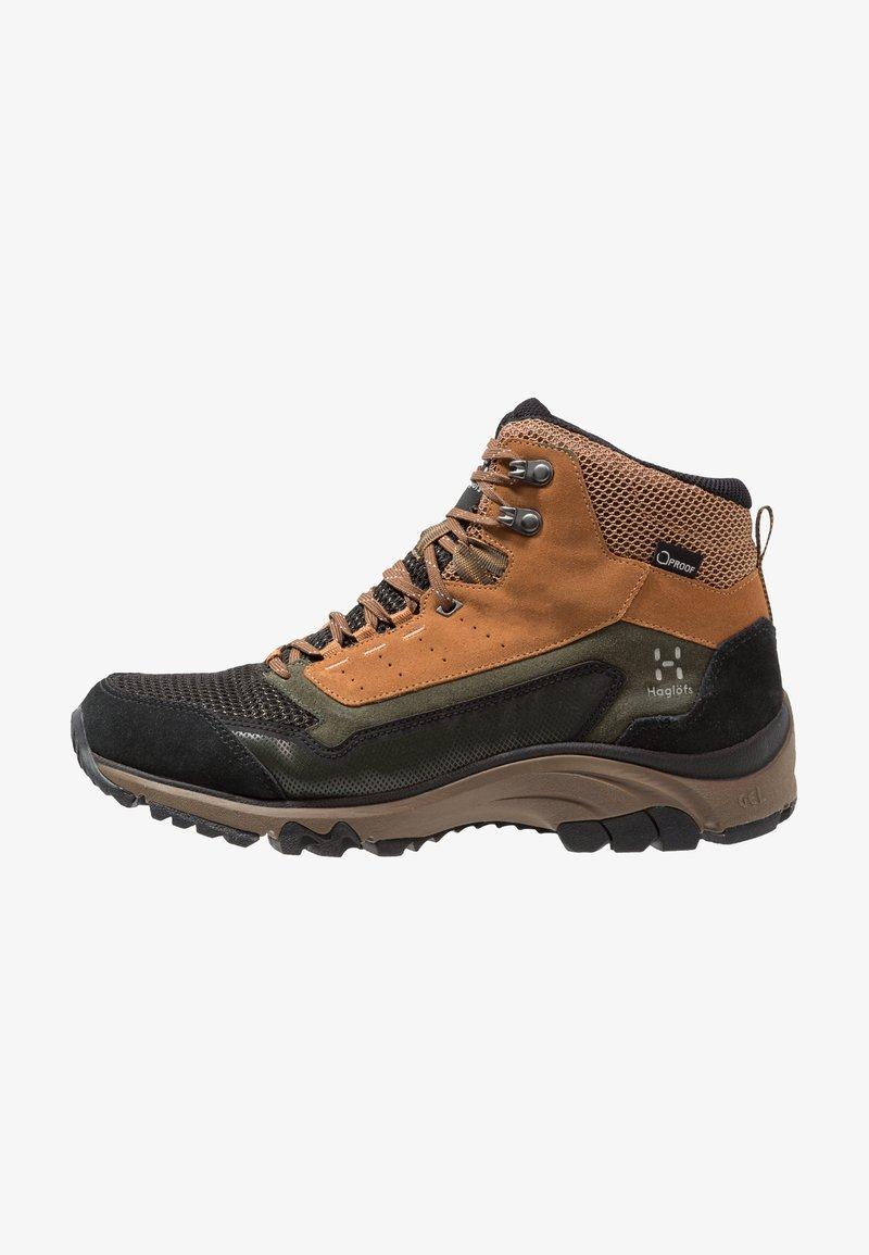 Haglöfs - SKUTA MID PROOF ECO MEN - Zapatillas de senderismo - oak/deep woods