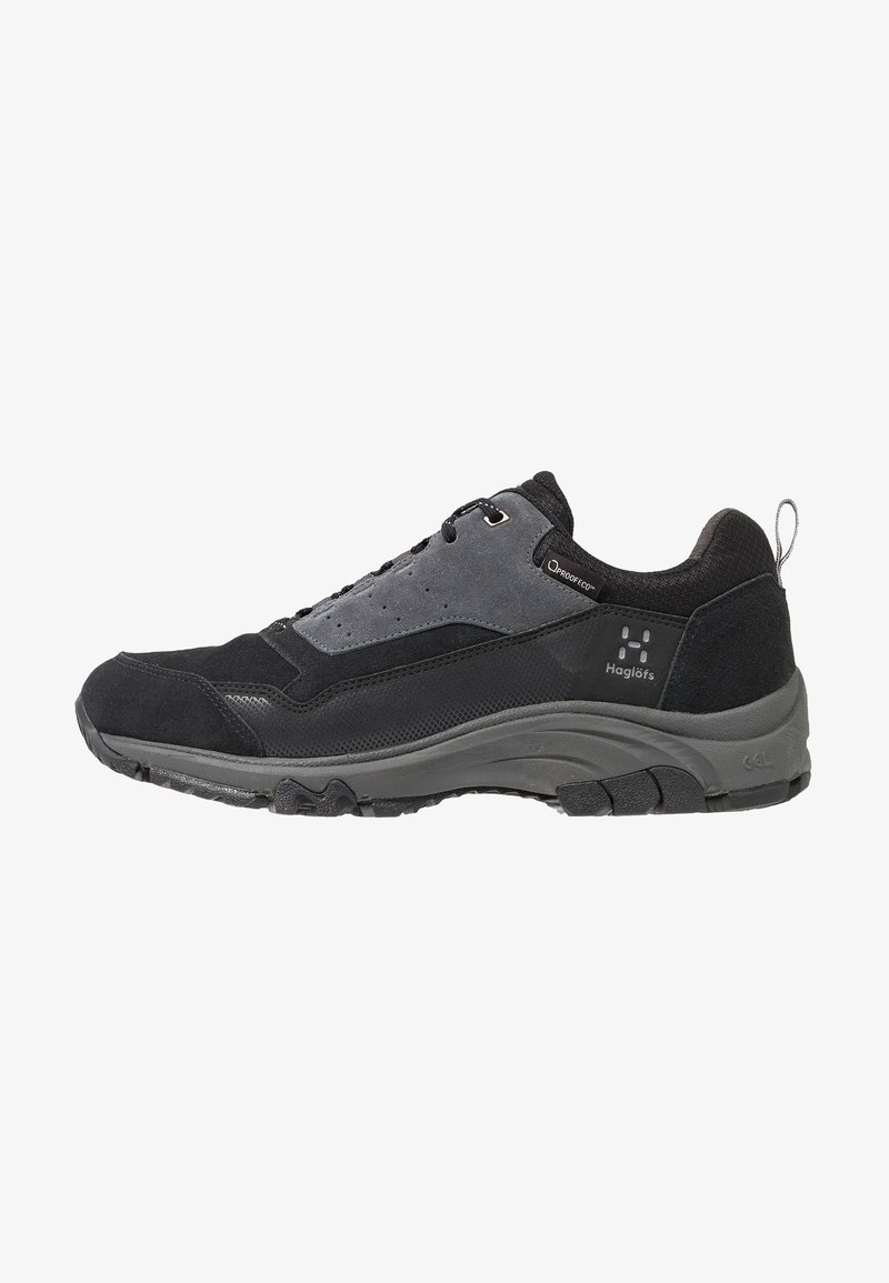 Haglöfs - HAGLÖFS SKUTA LOW PROOF ECO MEN - Outdoorschoenen - true black/magnetite