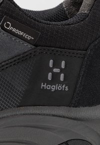 Haglöfs - HAGLÖFS SKUTA LOW PROOF ECO MEN - Outdoorschoenen - true black/magnetite - 5