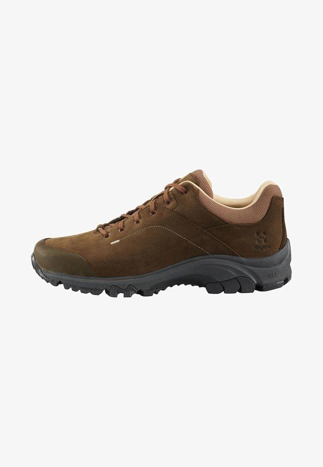 HAGLÖFS WANDERSCHUHE RIDGE LEATHER MEN - Hiking shoes - soil