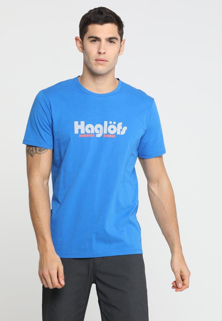 Haglöfs - CAMP TEE - Triko spotiskem - storm blue