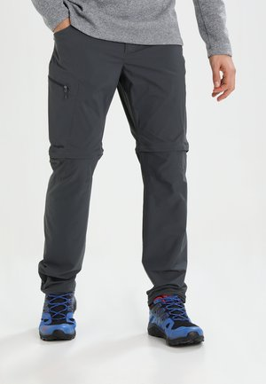 LITE ZIP OFF PANT MEN - Bukser - magnetite