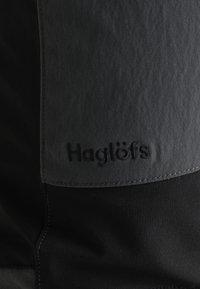 Haglöfs - RUGGED FLEX PANT MEN - Ulkohousut - magnetite/true black - 4