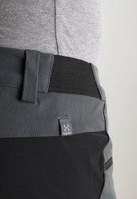 Haglöfs - RUGGED FLEX PANT MEN - Outdoor-Hose - magnetite/true black - 7