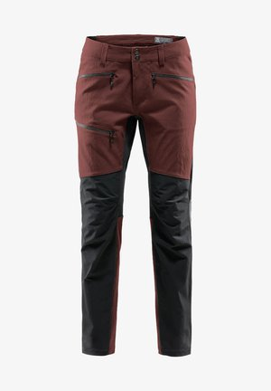 RUGGED FLEX PANT MEN - Outdoor trousers - red