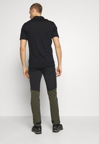 Haglöfs - RUGGED FLEX PANT MEN - Friluftsbukser - deep woods/true black - 2