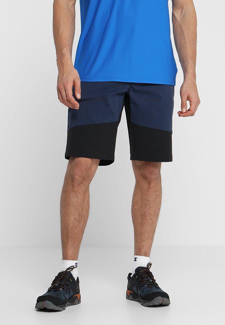 Haglöfs - RUGGED FLEX SHORTS MEN - Pantalón corto de deporte - tarn blue/true black