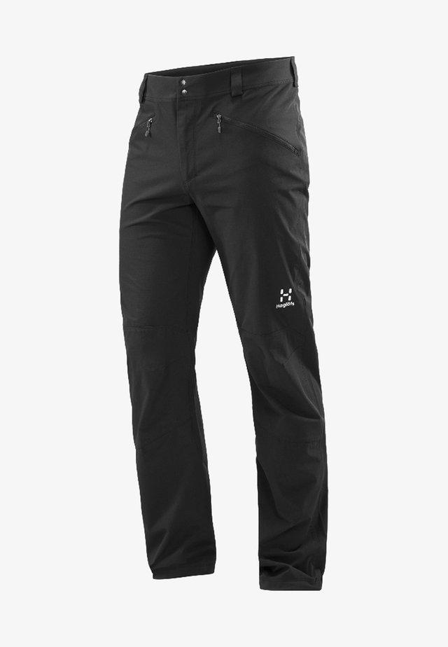 MORÄN - Outdoor trousers - true black