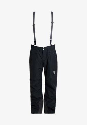 LINE PANT MEN - Spodnie narciarskie - true black