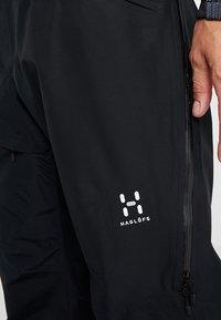 Haglöfs - LINE PANT MEN - Zimní kalhoty - true black - 4