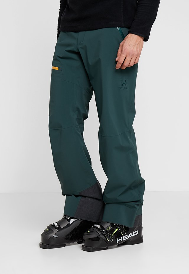 STIPE PANT MEN - Talvihousut - mineral