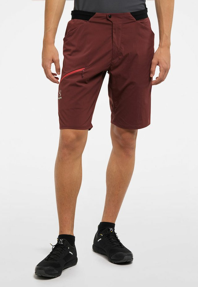 L.I.M FUSE - Outdoor Shorts - maroon red