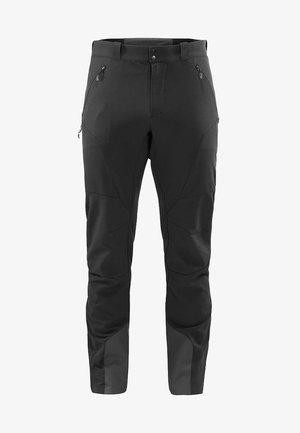 HAGLÖFS SOFTSHELLHOSE ROC FUSION PANT MEN - Snow pants - true black