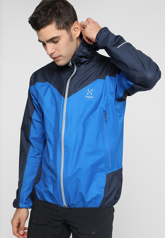 COMP JACKET MEN - Hardshelljacka - storm blue/tarn blue