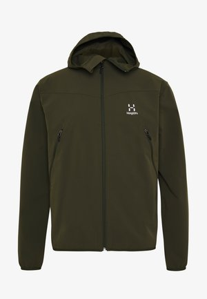 NATRIX HOOD MEN - Softshell jakker - deep woods