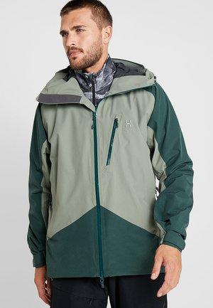 NIVA JACKET MEN - Ski jas - agave green/mineral