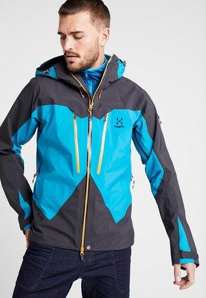 JACKET MEN - Hardshell jacket - mosaic blue/slate